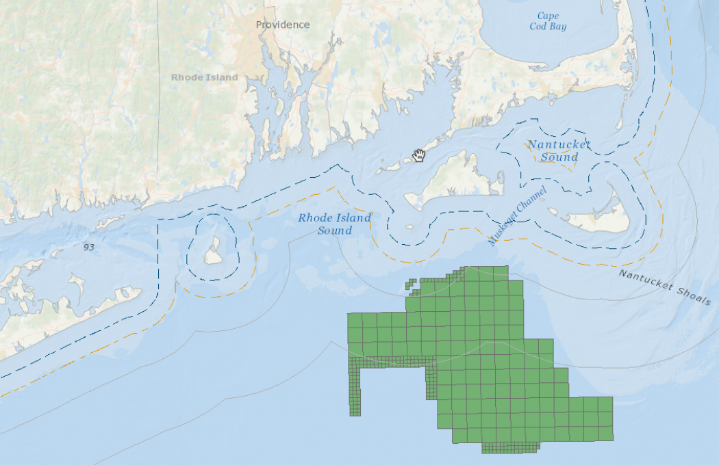 Feds Opening Waters To Largest US Offshore Wind Farm Climate - Map of the wind farms in the us
