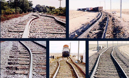 examples of railroad track buckling from a report on the issue from the national transportation library credit us dot