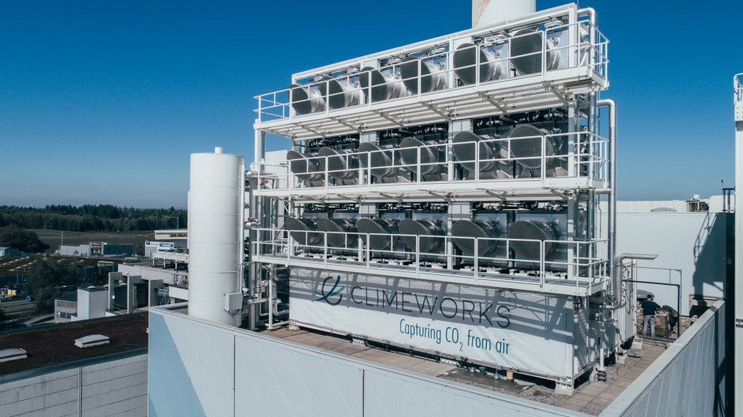Swiss company to extract carbon dioxide from air and reuse it