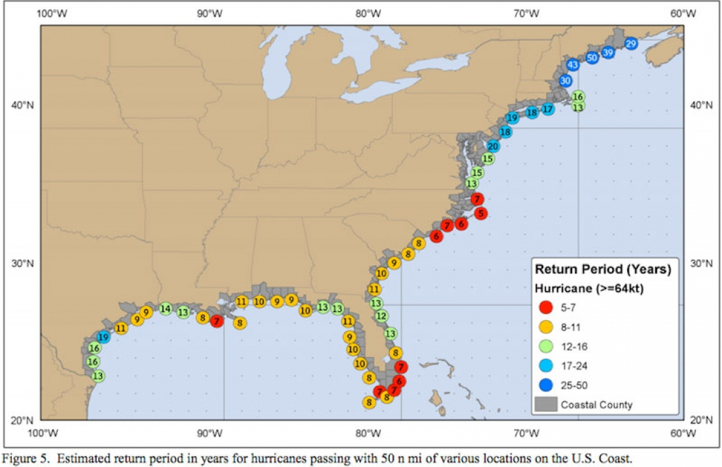Top 5 Most Vulnerable US Cities to Hurricanes Climate Central