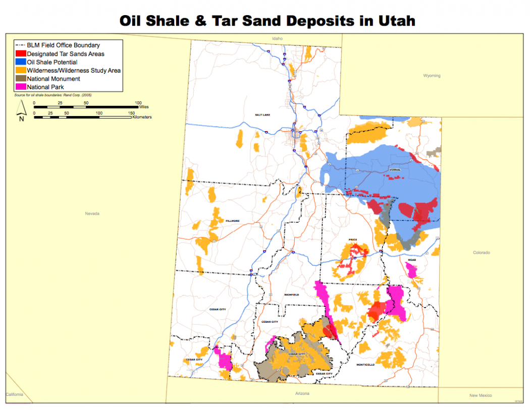 Tar Sands Mining Makes Leap From Canada To Utah  Climate