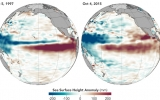 Two Maps Show Why El Niño is Rising to 1997-98 Levels