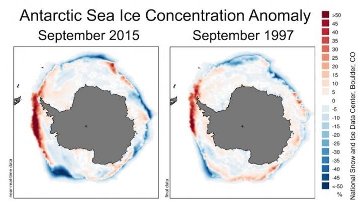 El Niño juega con la Antártida