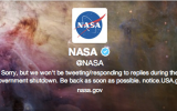 Shutdown Silences Weather and Climate Social Media