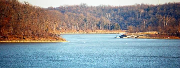 Harsha Lake Dam Harsha Lake a Large Reservoir