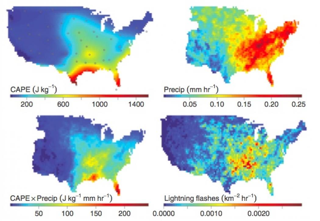 Wyoming Severe Weather Awareness Week Lightning CSST Safety US - Us lightning map
