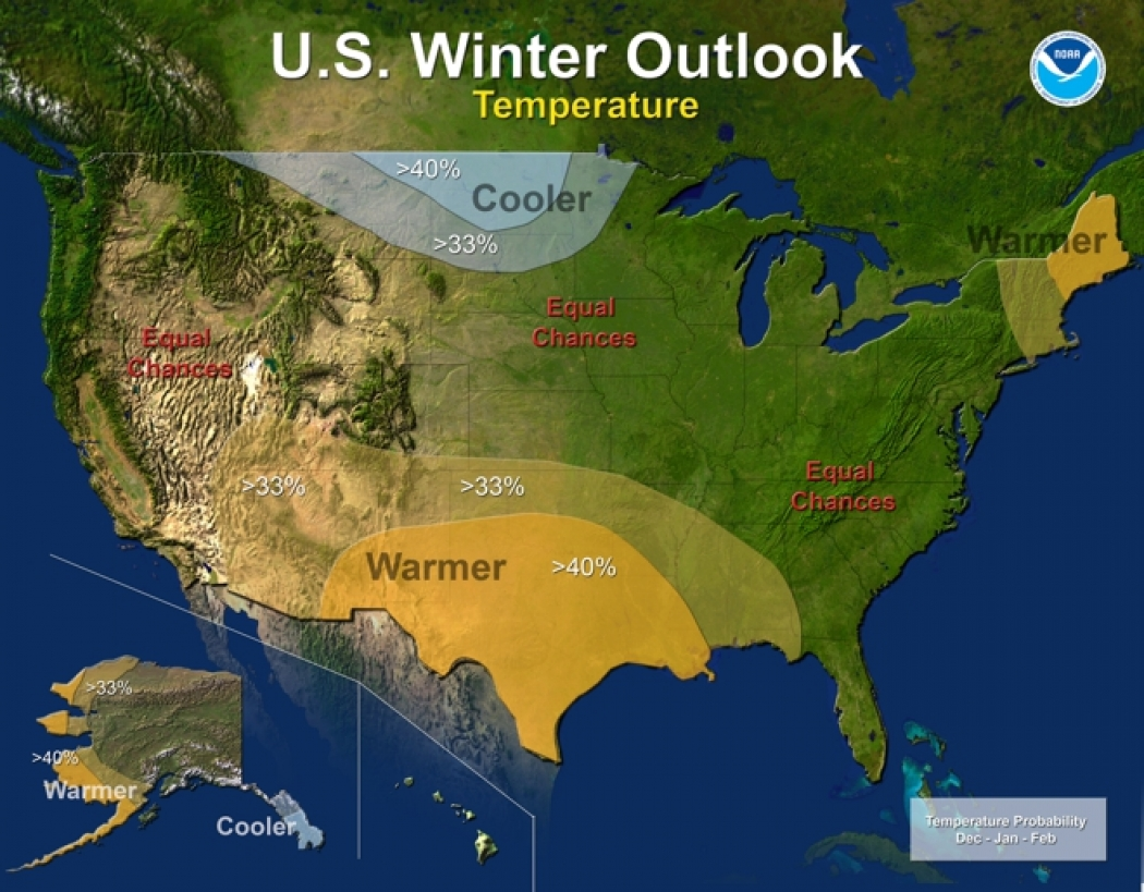 US Winter Outlook Dominated by Dire Drought News Climate Central