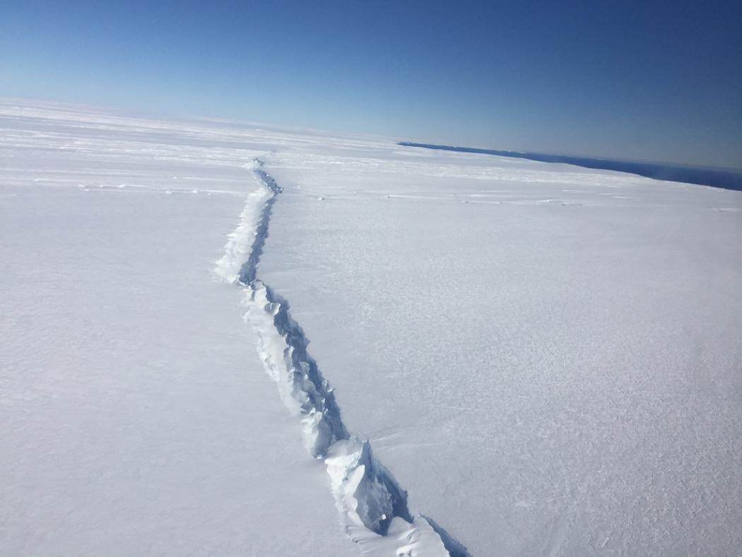 Glacier. Credit: NASA/Nathan Kurtz