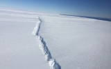 Odd Rifts in Antarctic Ice Could Mean 'Sayonara, Glacier'