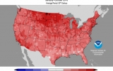 Toasty October Keeps U.S. on Track for 2nd-Hottest Year