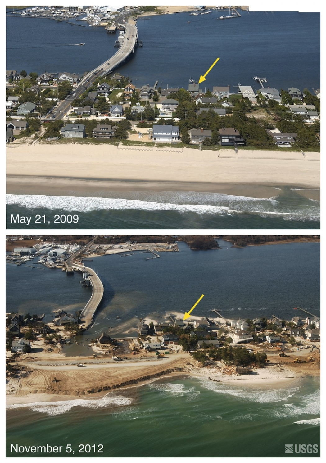 Aerial Pictures Show Hurricane Sandy's Destruction ...