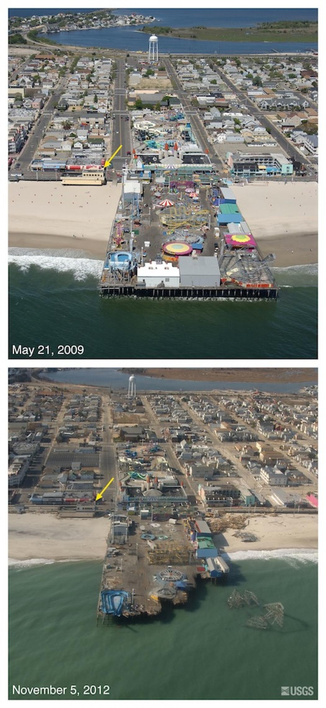 Aerial Pictures Show Hurricane Sandy S Destruction