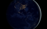 NASA Dazzles With 'Black Marble' Image of Earth at Night