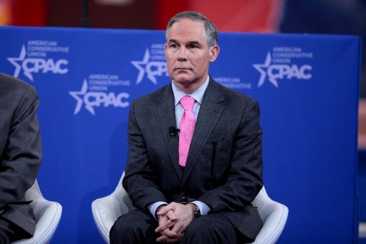 environment donald trump scott pruitt environmental protection agency climate change global warming