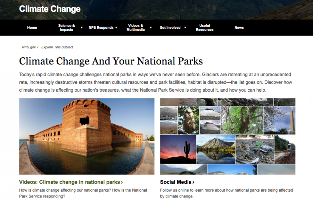 Climate Central/NPS
