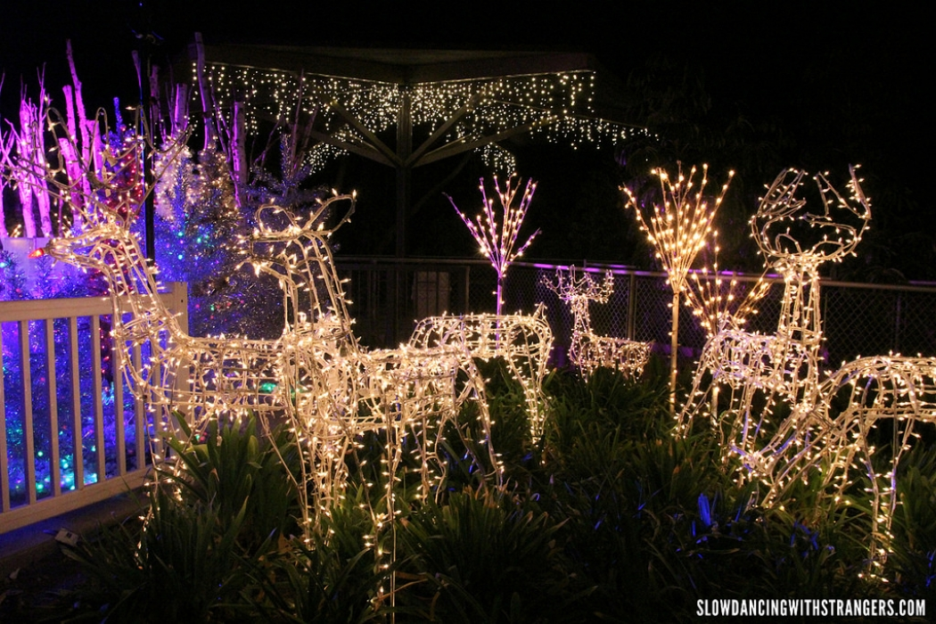 what holiday lights look like to nasa climate central