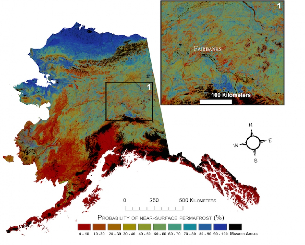 Heres How Much Of Alaskas Permafrost Could Melt