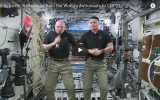 Astronauts Send a Message to Paris Climate Talks