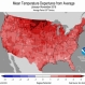 Record-Warm Autumn Solidifies 2nd-Hottest Year for U.S.