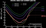 Warm Temps Slow Arctic Sea Ice Growth to a Crawl