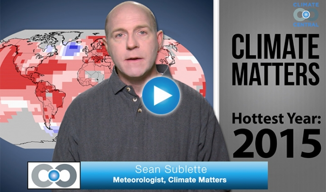 Climate Matters: Hottest Global Year on Record