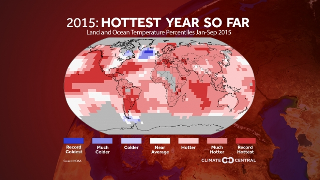 Hottest Year-to-Date on Record