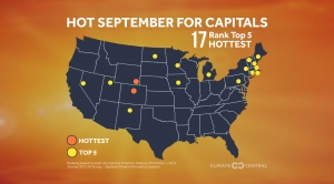 State Capitals: Hot Septembers