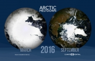 2016's Arctic Sea Ice Melt Season in 9 Seconds