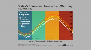 Today's Emissions, Tomorrow's Warming