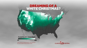 2016's Historical Probability of a White Christmas
