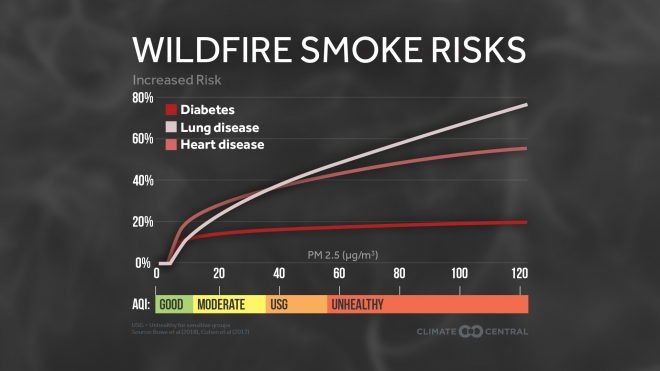 Wildfire Smoke Health Risks