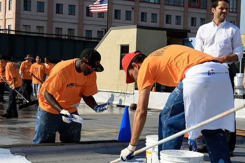 Painting White Roofs In New York Would Cool The City But Could Reduce  Summer Precipitation According To New Research. Credit: Community  Environment Center/ ...