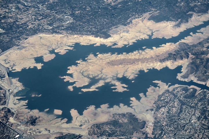 California S Folsom Lake In October 2015 With Receded Water Levels Due To The Ongoing California Drought Credit Alan Grinberg Flickr