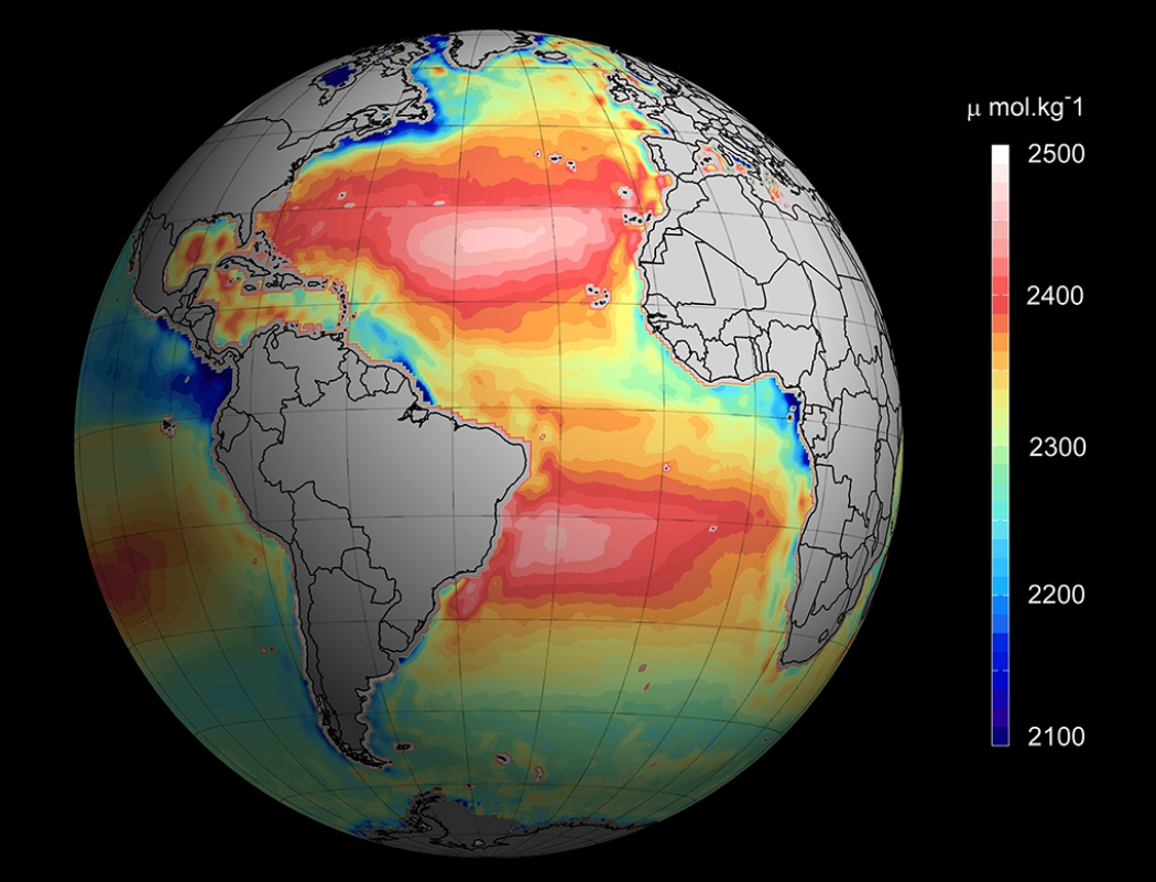 Ocean Acidification Now Watchable In Real Time Climate Central - World satellite view real time