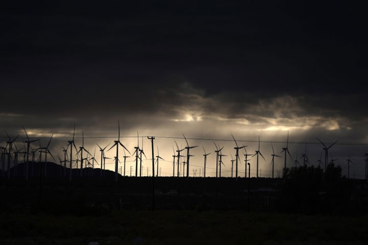 El viento ya impulsa a la mitad de EEUU