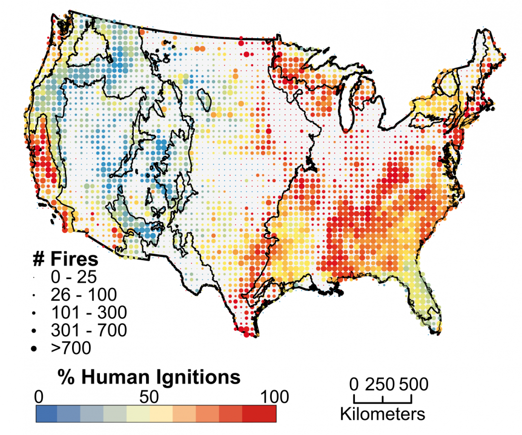 Humans Blamed for Starting Most Wildfires in the U.S. | Climate Central