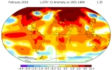 February Blows Away Global Heat Record