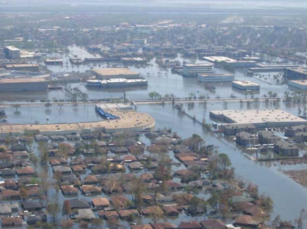 Hurricane andrew storm surge