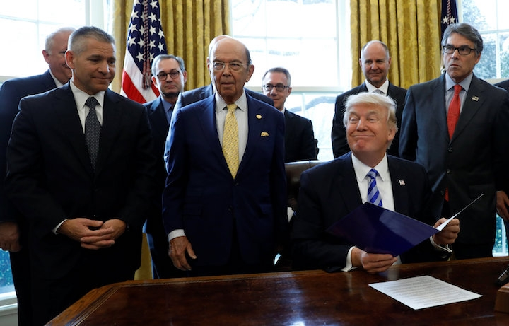Trump Just Approved the Keystone XL Pipeline
