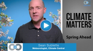 Climate Matters: Spring Coming Earlier Across U.S.