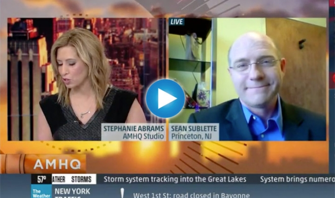 Sean Sublette on 2°C on The Weather Channel