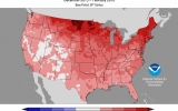 Winter Tops Charts As Warmest on Record For U.S.