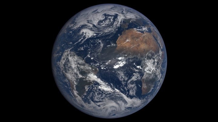 Earth as seen by the EPIC imager on the DSCOVR satellite