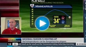 Sublette on Baseball & Climate with Weather Underground