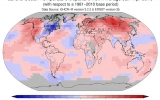 Past 12 Months Tied for Warmest on Record