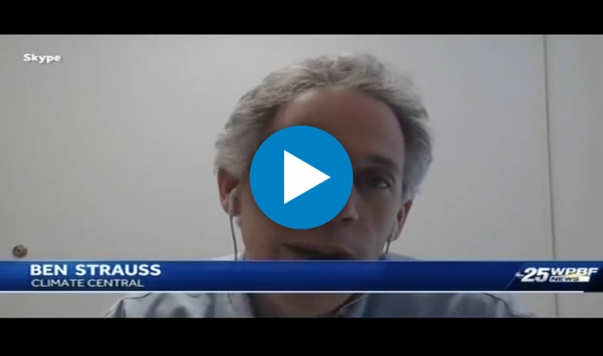 Ben Strauss on Stronger Hurricanes