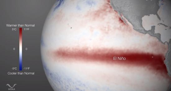 El Niño Can Raise Sea Levels Along U.S. Coast