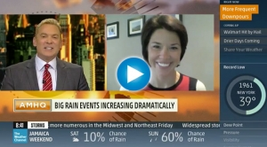 Woods Placky Talks Heavy Rain with Sam Champion