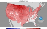 Second Warmest Start to the Year on Record for U.S.