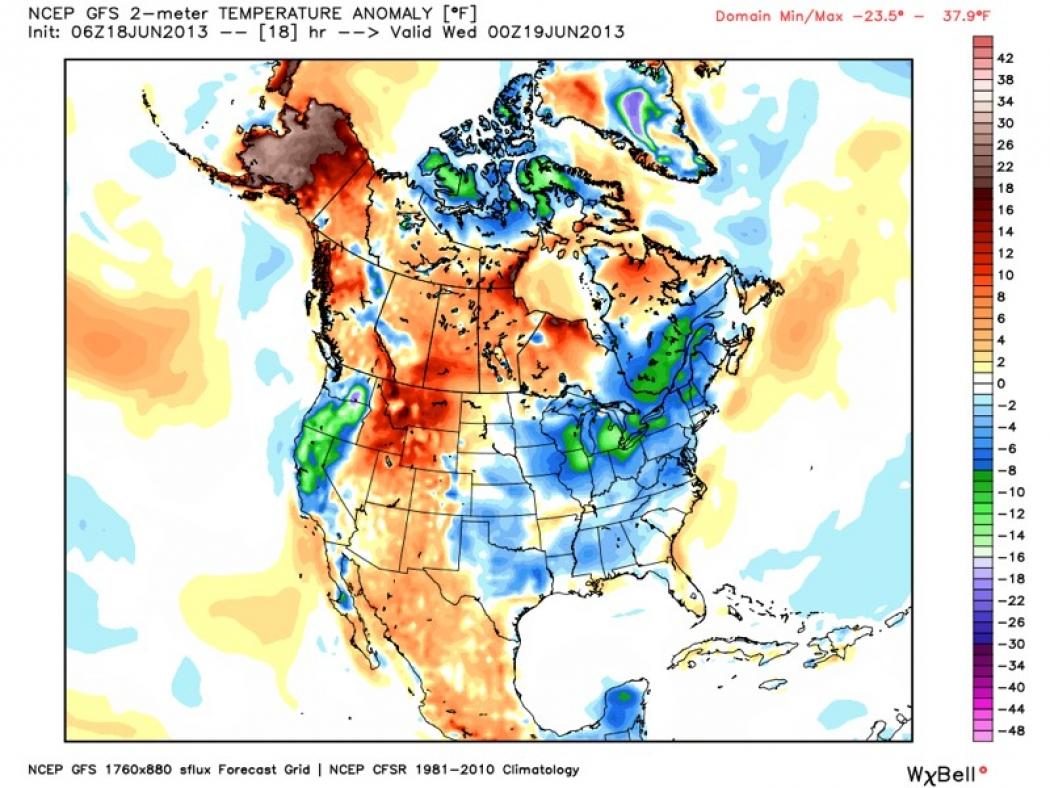 AllTime Heat Records Broken In Alaska Climate Central - Heat map us with alaska